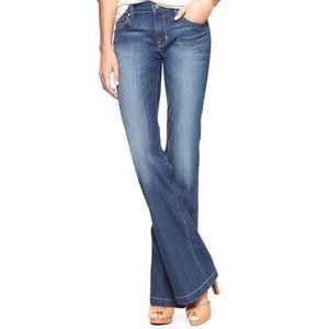 EUC GAP 29/8a 10/12 Long & Lean Trouser Jeans